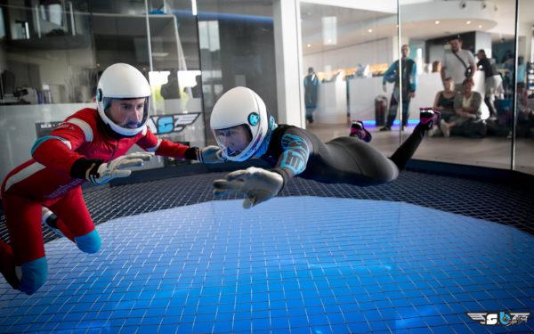 Vanessa Folkner Flying at Airspace Indoor Skydive